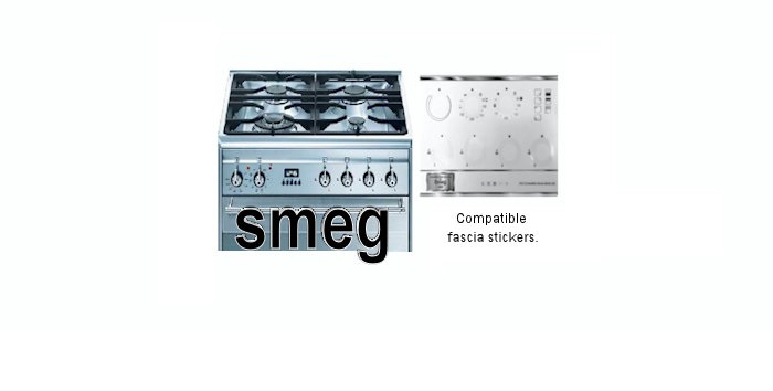 Smeg decal stickers.